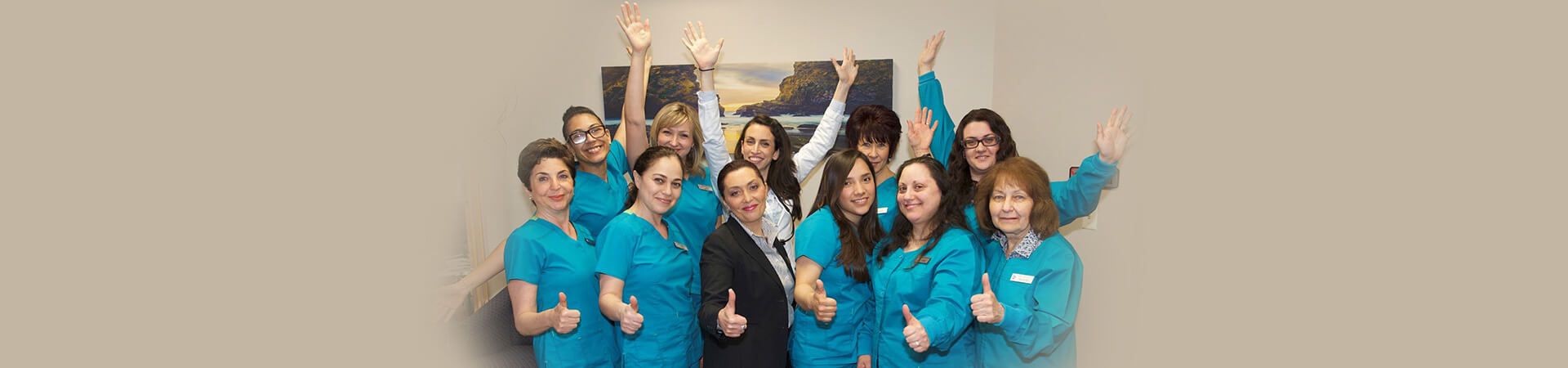 Team of Alpha Plus Dental Center